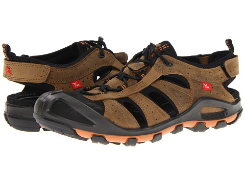 ECCO Sport - Terra VG Fisherman (Black/Navajo Brown/Scar/Yak Tycoon) Men