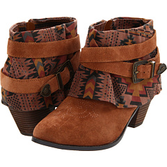 Betsey Johnson Yazmin (Rust Multi) Footwear