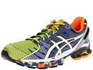 ASICS - GEL-Kinsei 4 (Lime/White/Royal) - Footwear