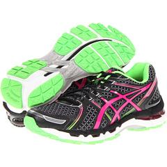 ASICS GEL-Kayano 19 (Black/Electric Pink/Apple) Women's Running Shoes