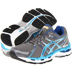 ASICS GEL-Kayano 19 (Lightning/Turquoise/Iris) Women's Running Shoes