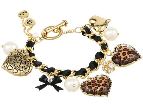 Betsey Johnson - Toggle Leopard Bracelet (Leopard) Bracelet