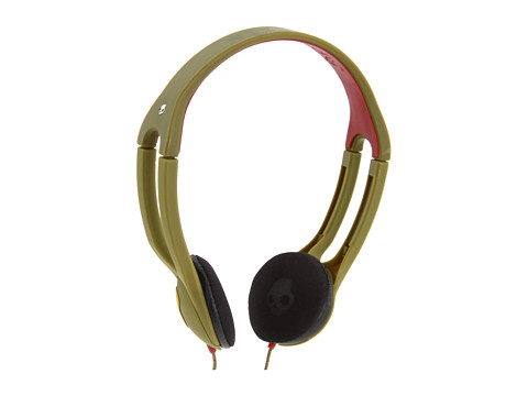Skullcandy - On Ear Icon 2 With Mic (2011) (Scout Rasta) Headphones