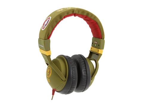 Skullcandy - Over-Ear Hesh With Mic (2011) (Scout Rasta) Headphones
