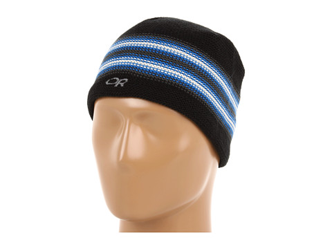 Outdoor Research - Spitsbergen Beanie (Youth) (Black/Glacier) Beanies