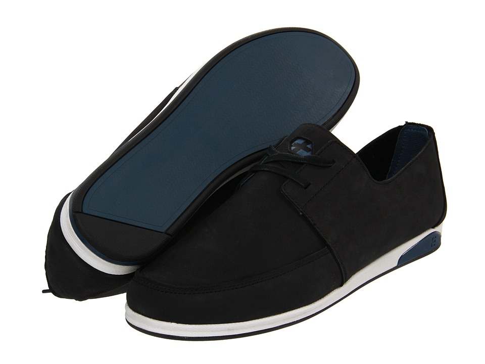 etnies - Guild Plus Low-Top (Black/Blue/White) Men