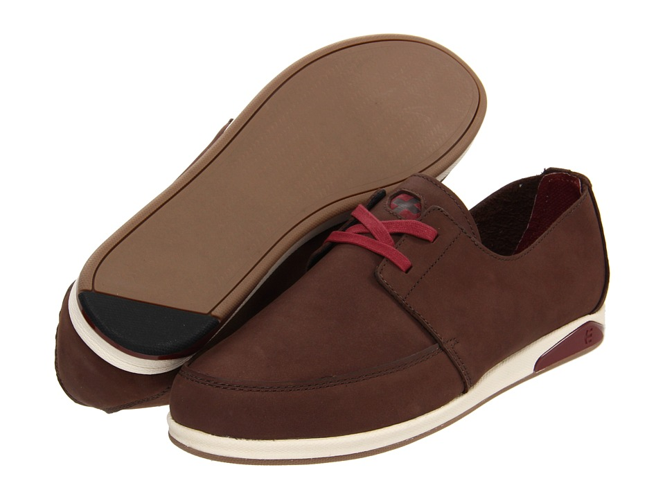 etnies - Guild Plus Low-Top (Dark Brown) Men