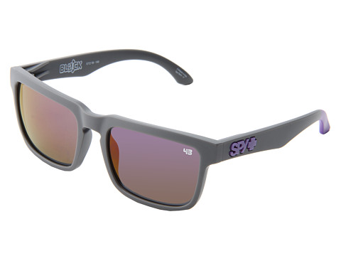 Spy Optic - Helm Primer (Primer Grey w/ Purple Spectra) Fashion Sunglasses