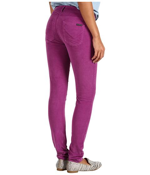 Hudson - Nico Mid-Rise Super Skinny Corduroy (Amethyst) Women's Jeans