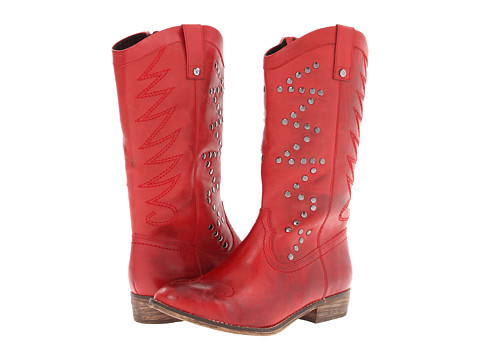 MIA Limited Edition Twist (Red) Women's Pull-on Boots