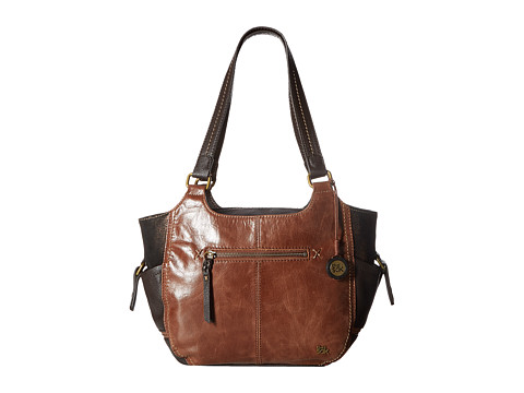 The Sak Kendra Satchel (Teak Multi) Satchel Handbags