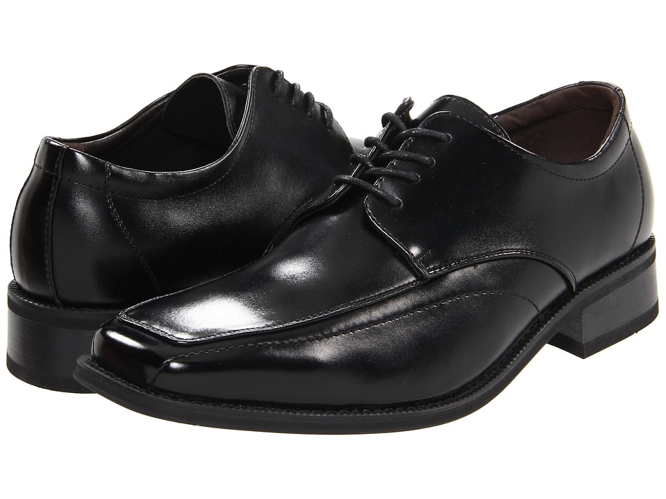 Giorgio Brutini - 17584 (Black) Men's Plain Toe Shoes