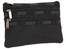 LeSportsac 3 Zip Cosmetic Case (Black)