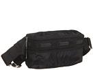 LeSportsac Double Zip Belt Bag (Black)
