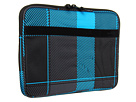 Hurley - 13 Buffalo Check Laptop (Blue) - Bags and Luggage