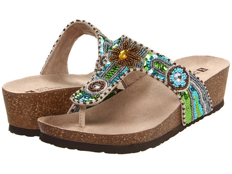 White Mountain - Blue Jay (Beige Multi) Women's Sandals