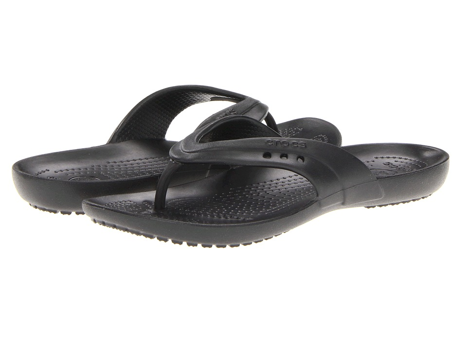 Crocs - Kadee Flip-Flop (Black) Women's Sandals