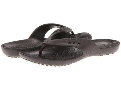 Crocs - Kadee Flip-Flop (Espresso) Women's Sandals
