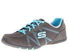 SKECHERS - Jazz Hands - Dance-Off (Grey/Blue) - Footwear