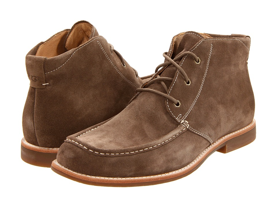 UGG - Via Lungarno (Fawn Suede) Men's Lace-up Boots
