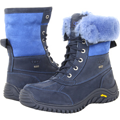 UGG Adirondack Boot II (Navy Leather Suede) Footwear