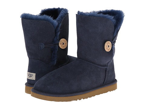 UGG - Bailey Button (Navy) Women's Boots