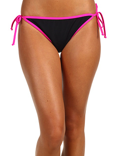 SALE! $26.19 - Save $9 on Hurley Block Party String Tie Side Bottom (Pink Black) Apparel - 25.17% OFF $35.00