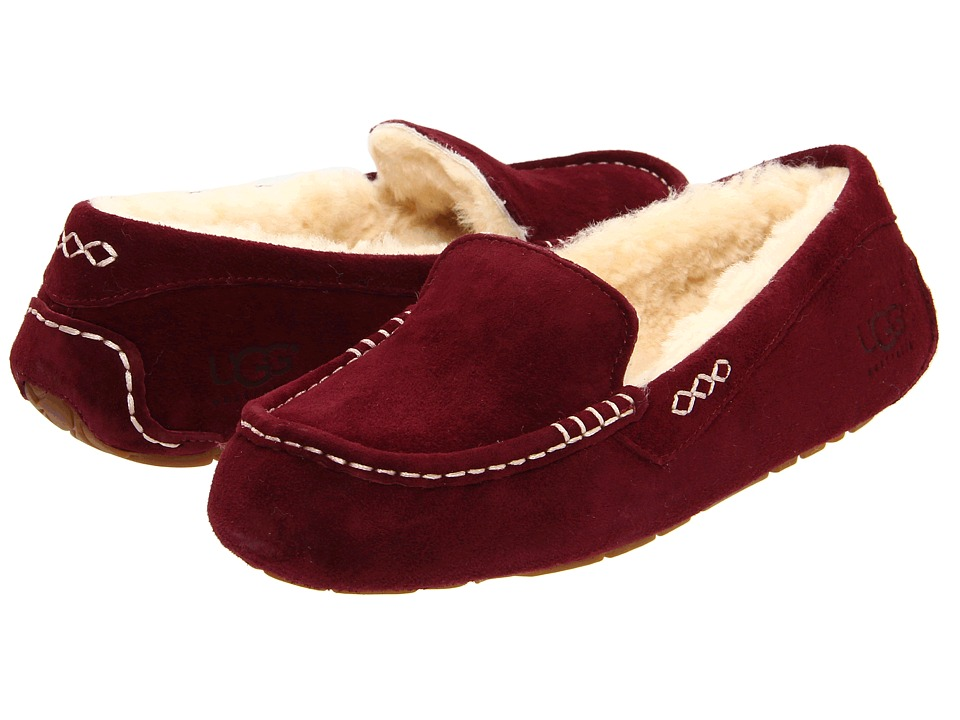 UGG - Ansley (Mahogany) Women's Slippers