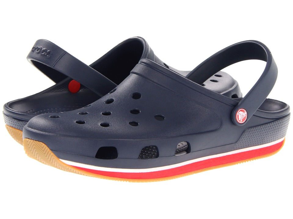 Crocs - Retro Clog (Navy/Red) Clog Shoes