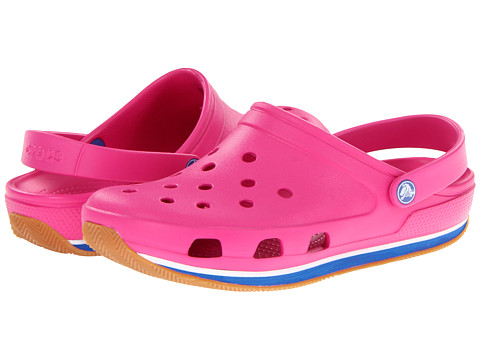 2d64ccd9b94139 ... UPC 883503945791 product image for Crocs Retro Clog (Fuchsia Sea Blue)  Clog Shoes ...
