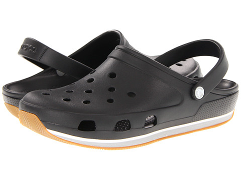 Crocs - Retro Clog (Black/Light Grey) Clog Shoes