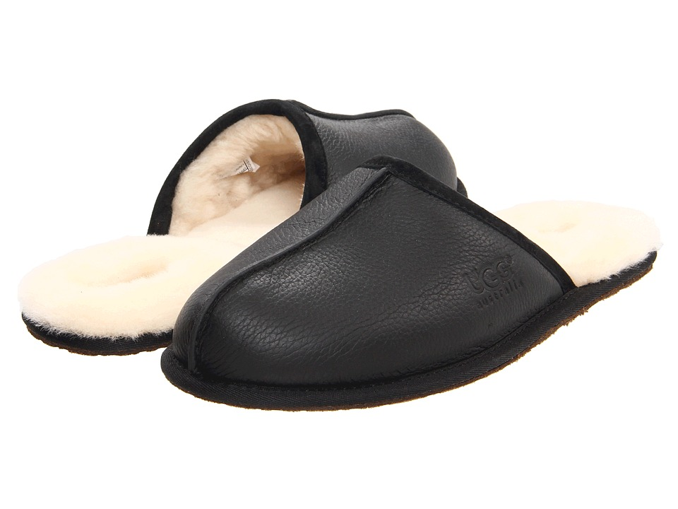 UGG - Scuff (Black Elk) Men's Slippers