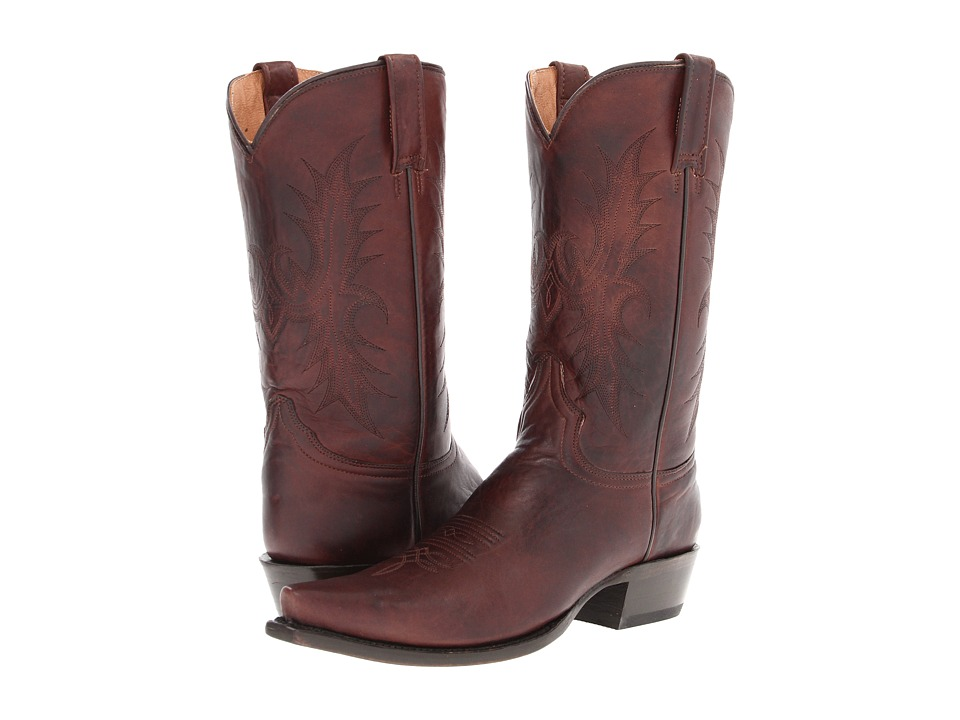 Stetson - 12 Classic Lady Snip Toe (Brown) Cowboy Boots
