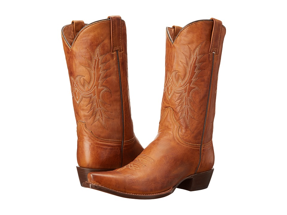 Stetson - 12 Classic Lady Snip Toe (Tan) Cowboy Boots