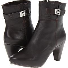 Easy Spirit Parnle (Dark Brown Leather) Footwear