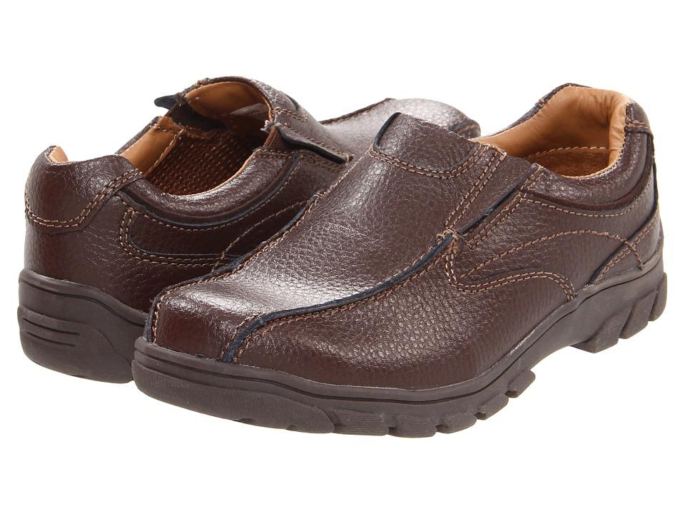 Florsheim Kids - Getaway Bike Slip Jr. (Toddler/Little Kid/Big Kid) (Brown) Boys Shoes