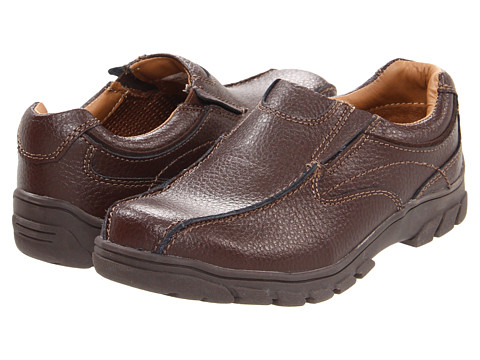Florsheim Kids - Getaway Bike Slip Jr. (Toddler/Little Kid/Big Kid) (Brown) Boys Shoes