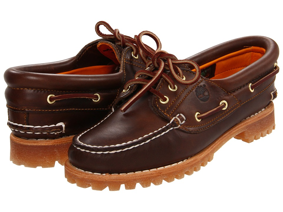 Lace Up Moc Toe