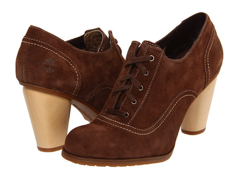 Timberland - Nevali Lace Ox (Dark Brown) Women