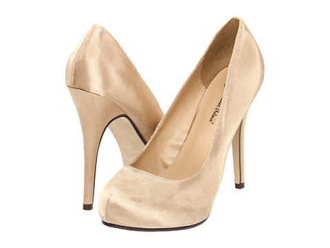 Michael Antonio Love Me Satin (Champagne) High Heels