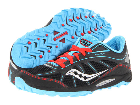 Saucony - Progrid Kinvara TR (Black/Blue/Red) Women's Running Shoes