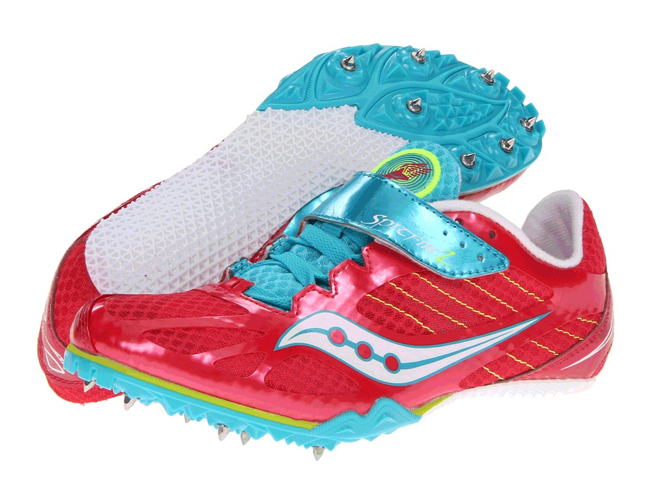 Saucony - Spitfire 2 (Raspberry/Blue) Women's Running Shoes