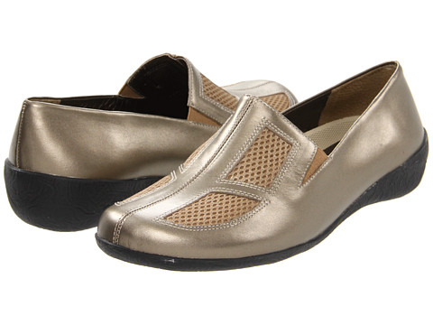 Walking Cradles - Real (Mid Bronze Leather) Women's Slip on Shoes