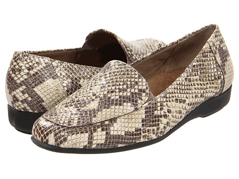 Walking Cradles - Trump Card (Taupe/Brown Snake Print Leather) Women