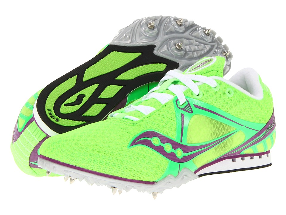 Saucony - Velocity 5 (Slime Green/Pink) Women's Running Shoes