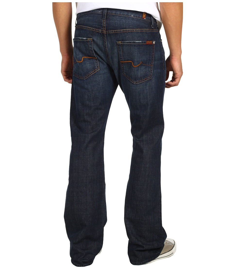 7 For All Mankind - Brett Bootcut in New York Dark (New York Dark) Men's Jeans