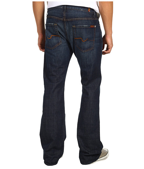 7 For All Mankind - Brett Bootcut in New York Dark (New York Dark) Men
