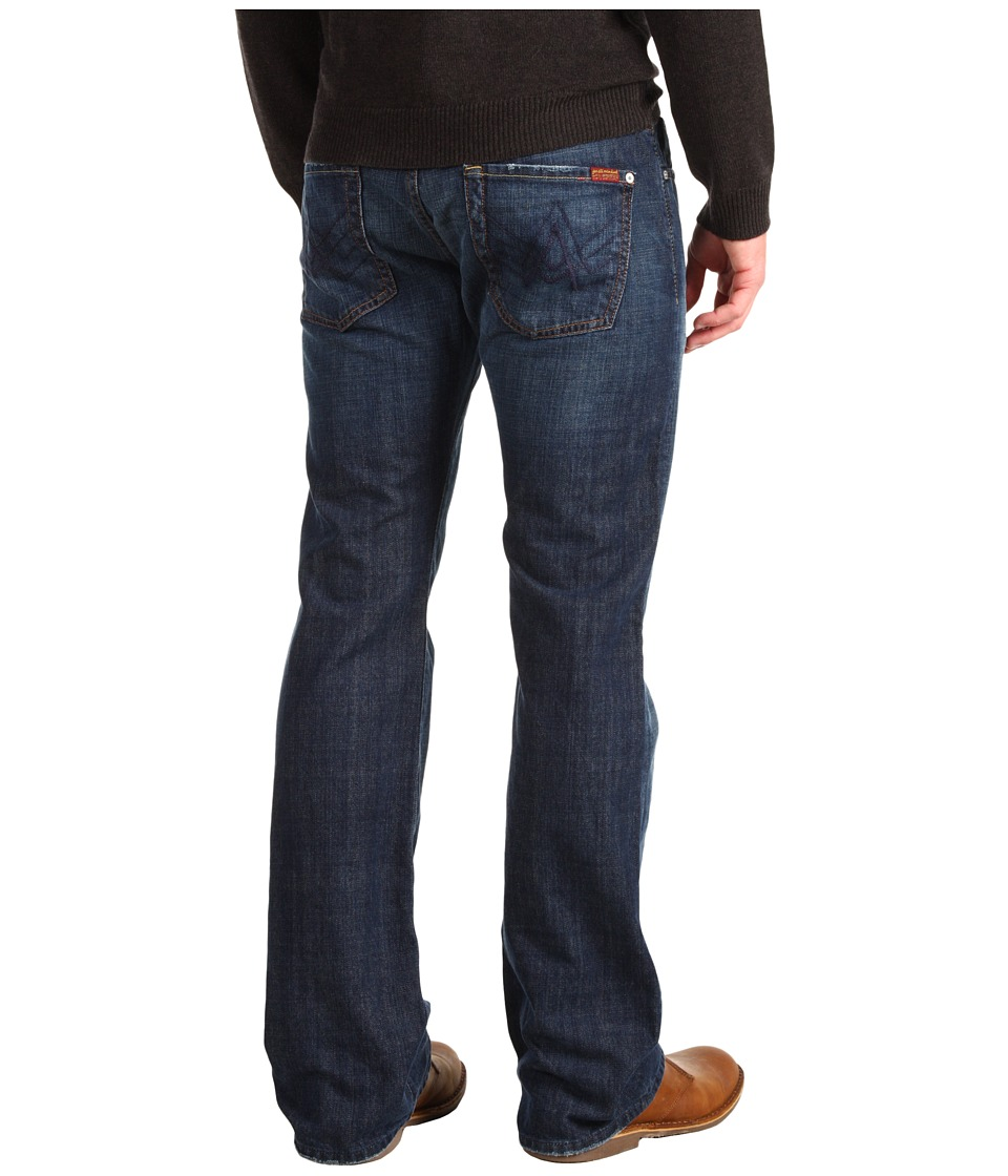 7 For All Mankind - Brett Bootcut A Pocket in New York Dark (New York Dark) Men's Jeans