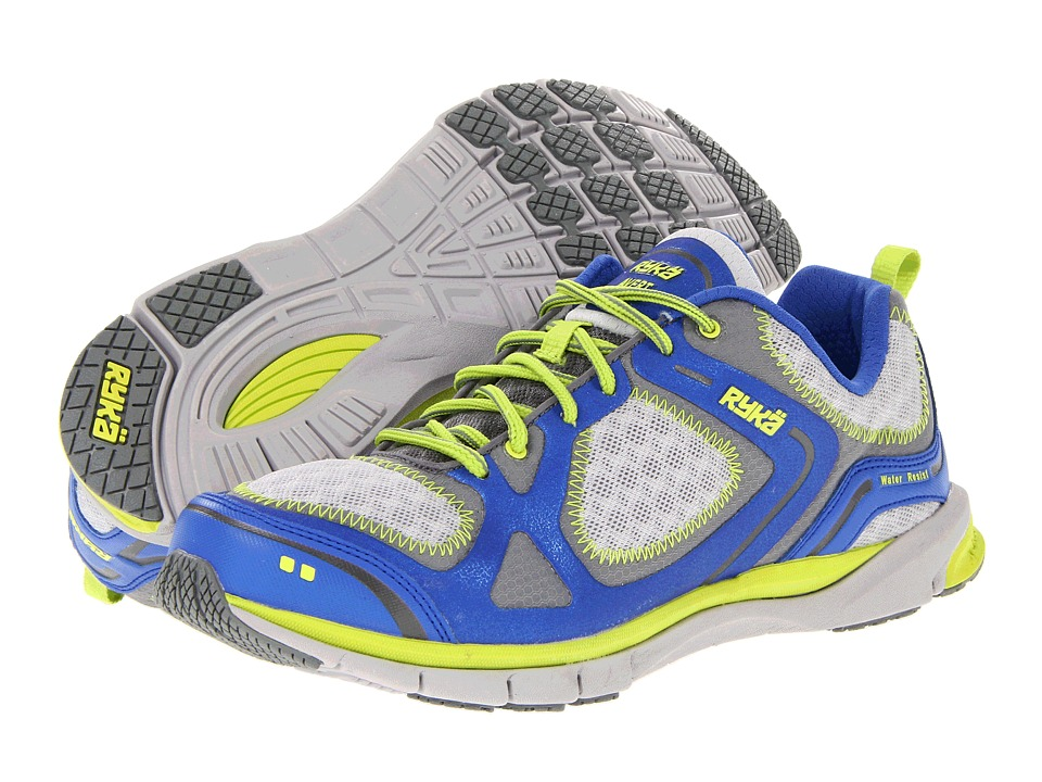 Ryka - Avert (Blue Ribbon/Metallic Ash Grey/Cool Mist/Elite Lime) Women's Running Shoes