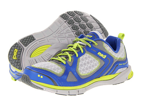 Ryka - Avert (Blue Ribbon/Metallic Ash Grey/Cool Mist/Elite Lime) Women
